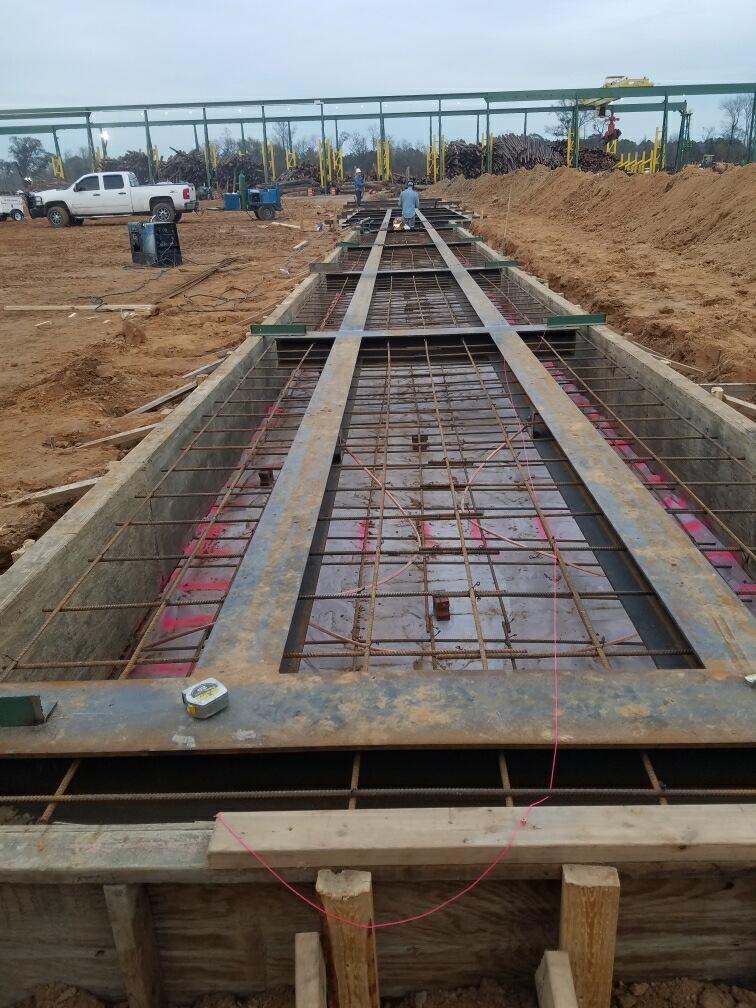 Mobile Concrete construction project